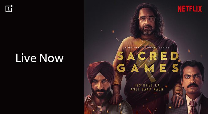 Oneplus-Invited-Oneplus-Users Special-Screening-of-Sacred-Games Season 2
