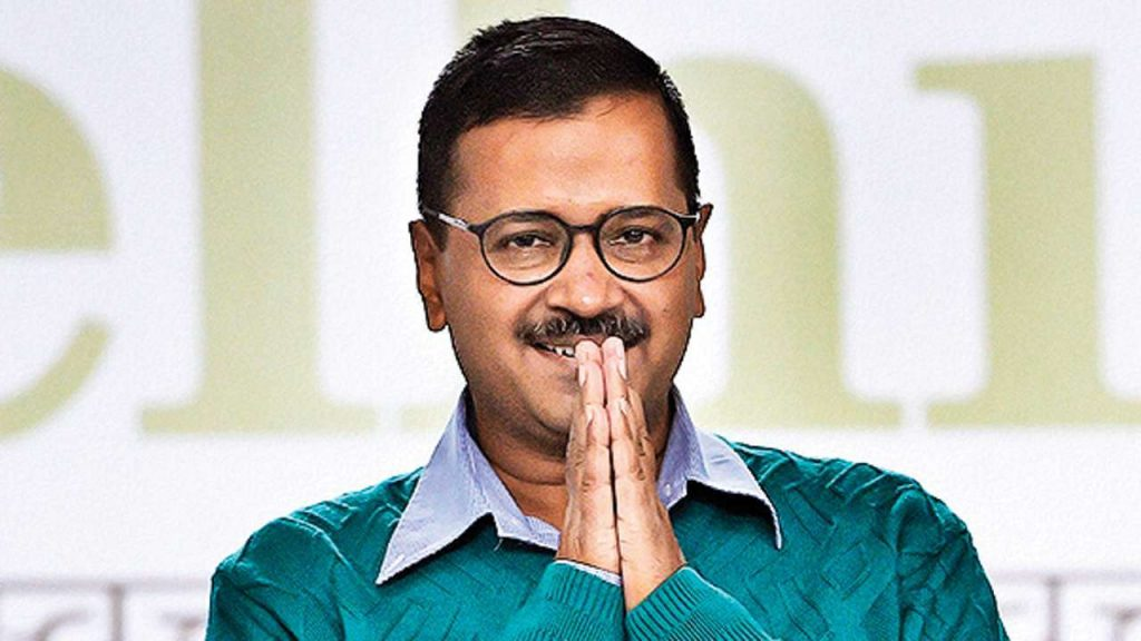 Delhi Chief Minister Arvind Kejriwal who sworn in as Chief Minister for the 3 time